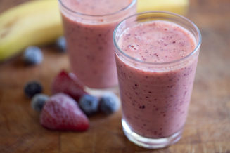 placenta smoothie